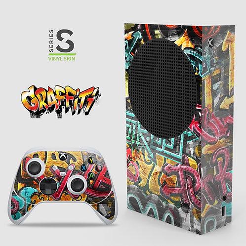 Graffiti - Xbox Series S vinyl skin