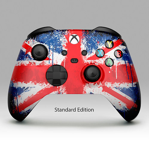 Union Jack - Xbox One custom controller