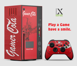 Series X - Gamer Cola vinyl skin