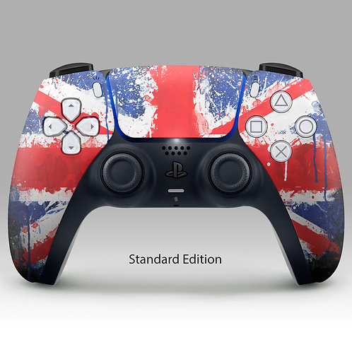 Union Jack  - PS5 DualSense custom controller