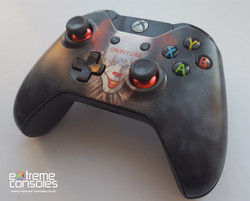 Pennywise themed Xbox controller