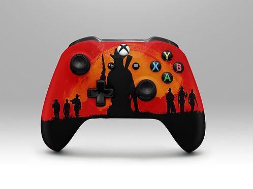 Cowboy (Wild West) - Xbox One controller