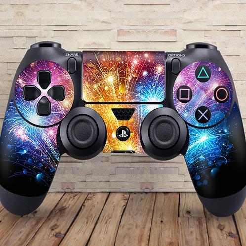 Fireworks - PS4 controller vinyl skin