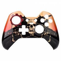 Guns of War Xbox Elite top shell faceplate