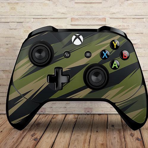 ZigZag  Camo - Xbox One S/X controller vinyl skin