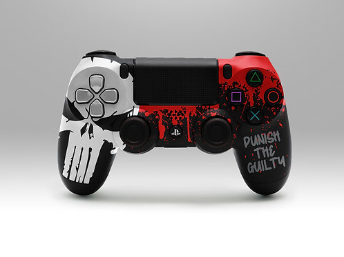 Punish the Guilty - Playstation 4 controller