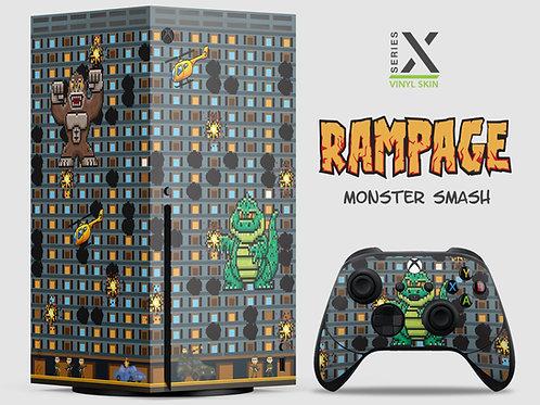 Monster Smash - Xbox Series X vinyl skin