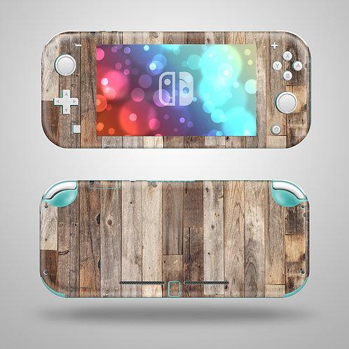 Wooden - Nintendo Switch Lite vinyl skin