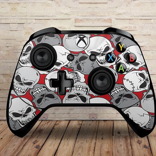 Skulls - Xbox One S/X controller vinyl skin