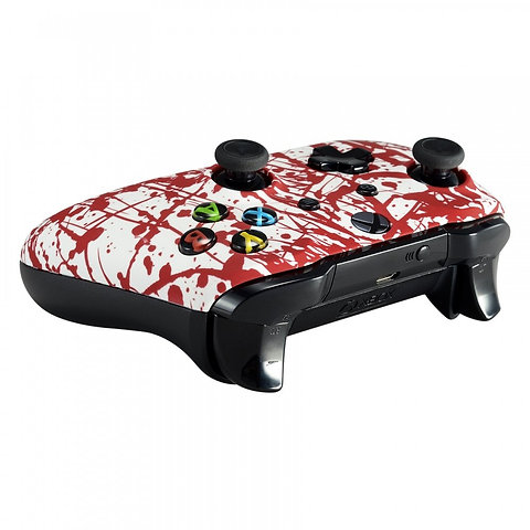 Awesome Blood Splatter Xbox One S Controller Or Faceplate Gmtry Best Dining Table And Chair Ideas Images Gmtryco
