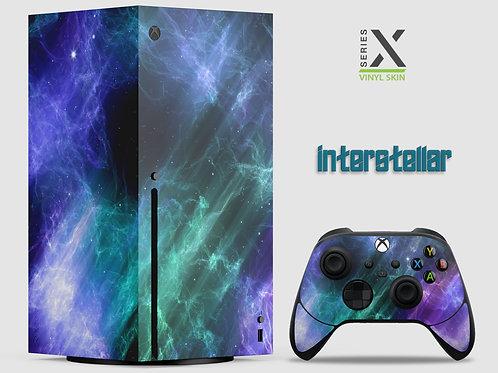 Interstellar - Xbox Series X vinyl skin
