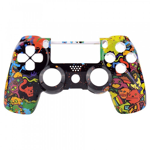 Cartoon Graffiti Playstation 4 (PS4) controller or Faceplate
