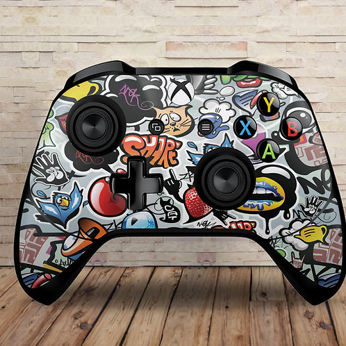 copy of Grunge - Xbox One S/X controller vinyl skin