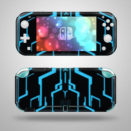 Neon Grid - Nintendo Switch Lite vinyl skin