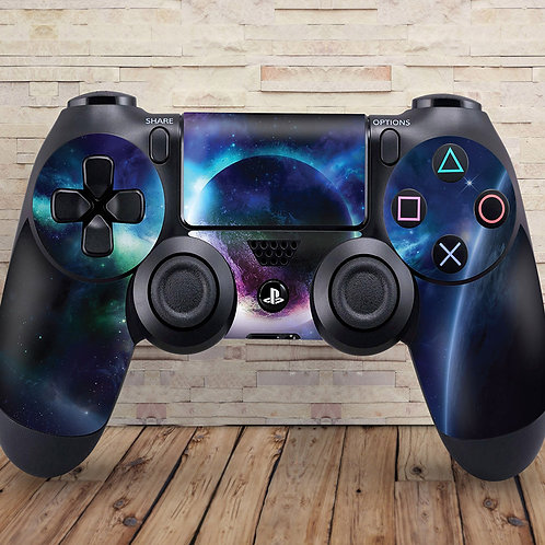 Planets - PS4 controller vinyl skin
