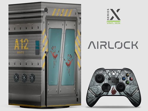 Airlock - Xbox Series X vinyl skin