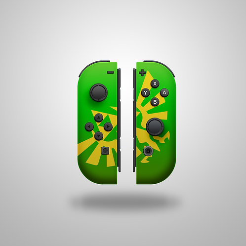 TriForce (Joy Con) Nintendo Switch controller or shell