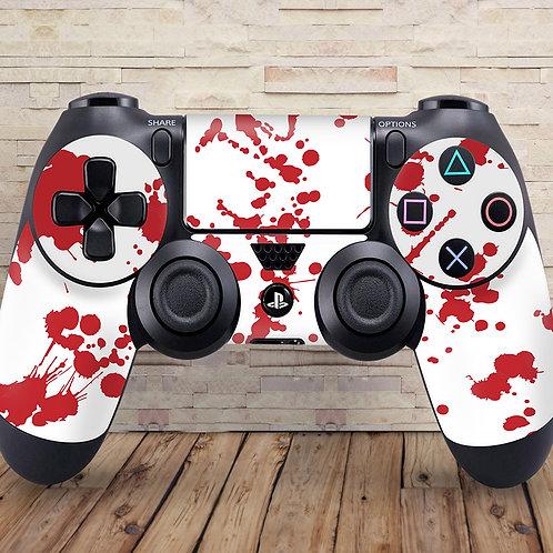 Blood Splatter - PS4 controller vinyl skin