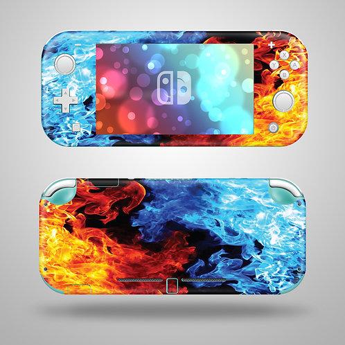 Flames - Nintendo Switch Lite vinyl skin
