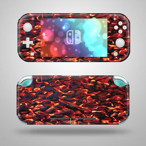 Lava - Nintendo Switch Lite vinyl skin