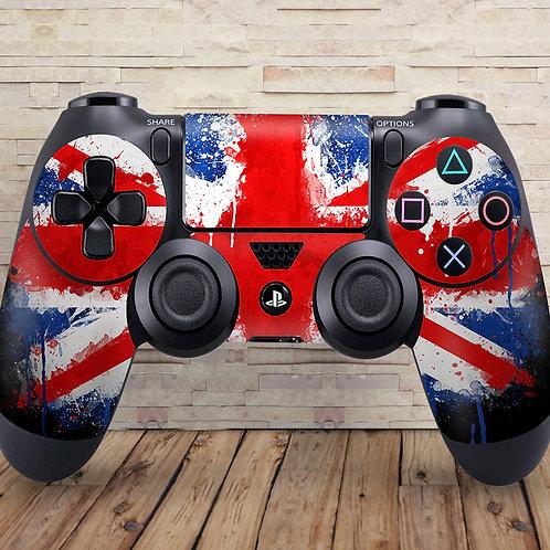 Union Jack - PS4 controller vinyl skin