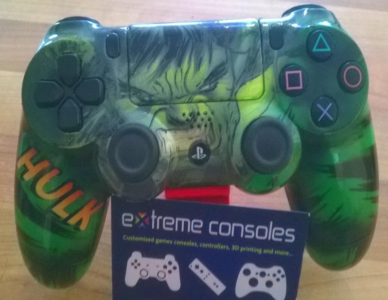 Hulk Playstation 4 controller