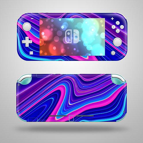 Liquid - Nintendo Switch Lite vinyl skin