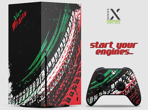 Horizon Racing - Xbox Series X vinyl skin