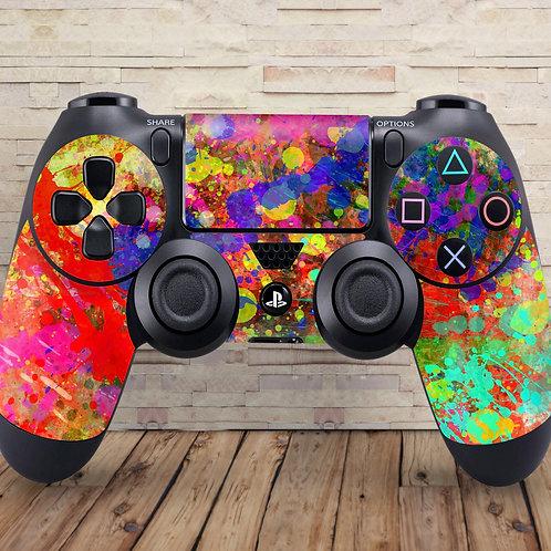 Paint Splatter - PS4 controller vinyl skin