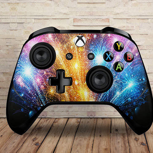 Fireworks - Xbox One S/X controller vinyl skin