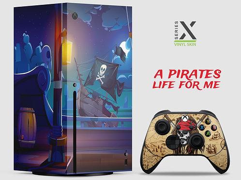 A Pirates Life - Xbox Series X vinyl skin