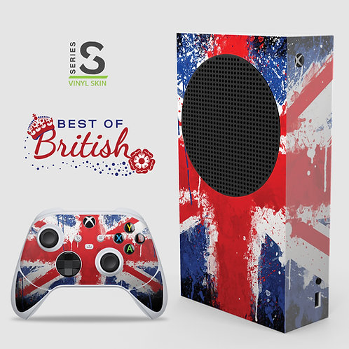 Best of British - Xbox Series S vinyl skin