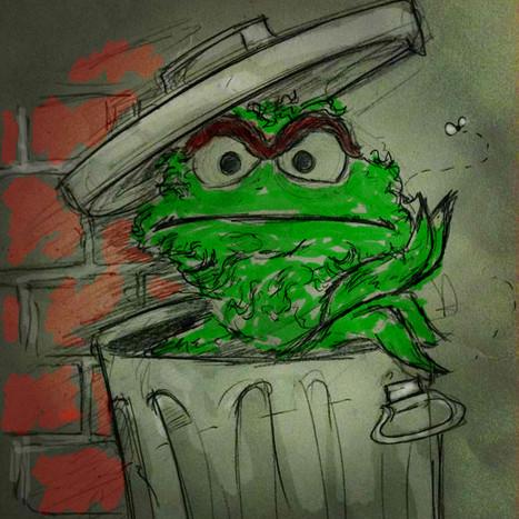 A Muppet