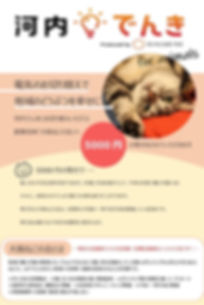 河内でんき_for_animals 画像 株式会社ミツカワチ