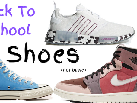 Back to School Shoes *not basic*