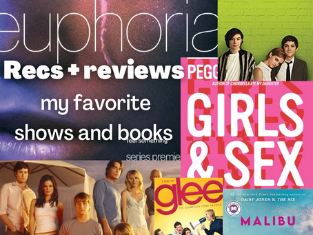 Recs and Honest Reviews: My Favorite TV Shows and Books