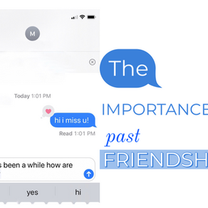 The Importance of Past Friendships