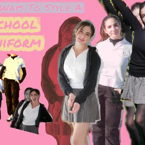 5+ Ways To Style A School Uniform