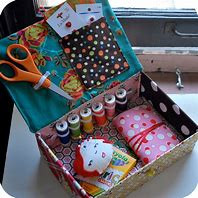 Things to have in your sewing box/kit.