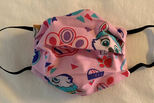 Small Paw Patrol Pink (Young Kid 7-12)