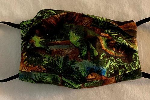 Small Dinosaur Green (Young Kid 7-12)