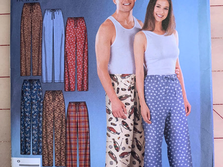 Drawstring Pajama Pants