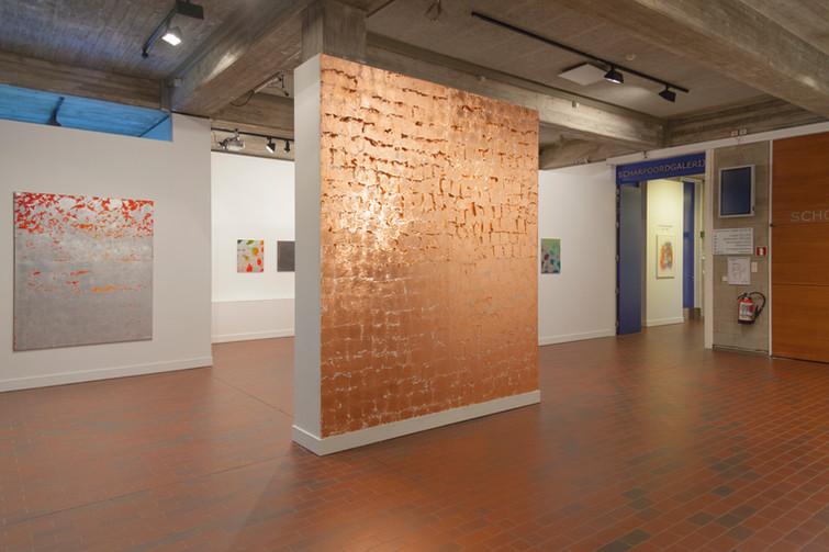exhibition view: