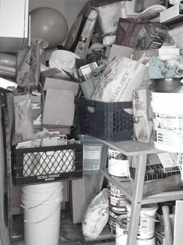 Storage Unit Before