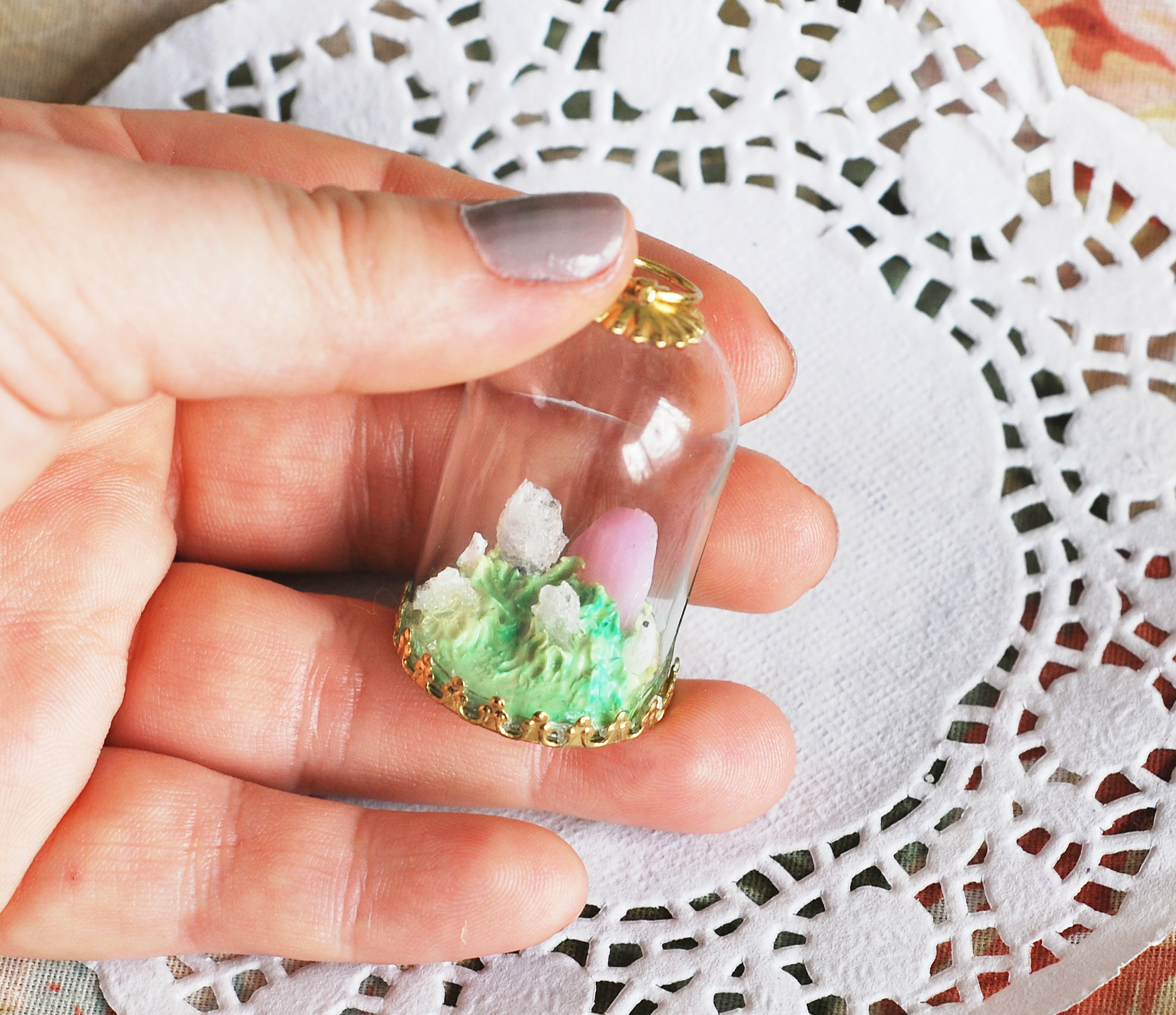 Miniature Crystal Graveyard (dome)