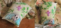 Glittery Grave Pillow