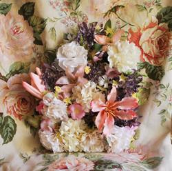 Floral Gravestone