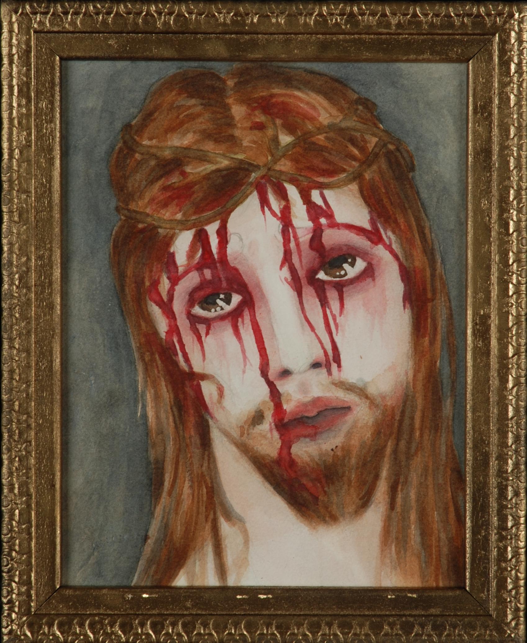 Jesus Son of God: Cabinet Icon
