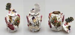 flower urn (iced)