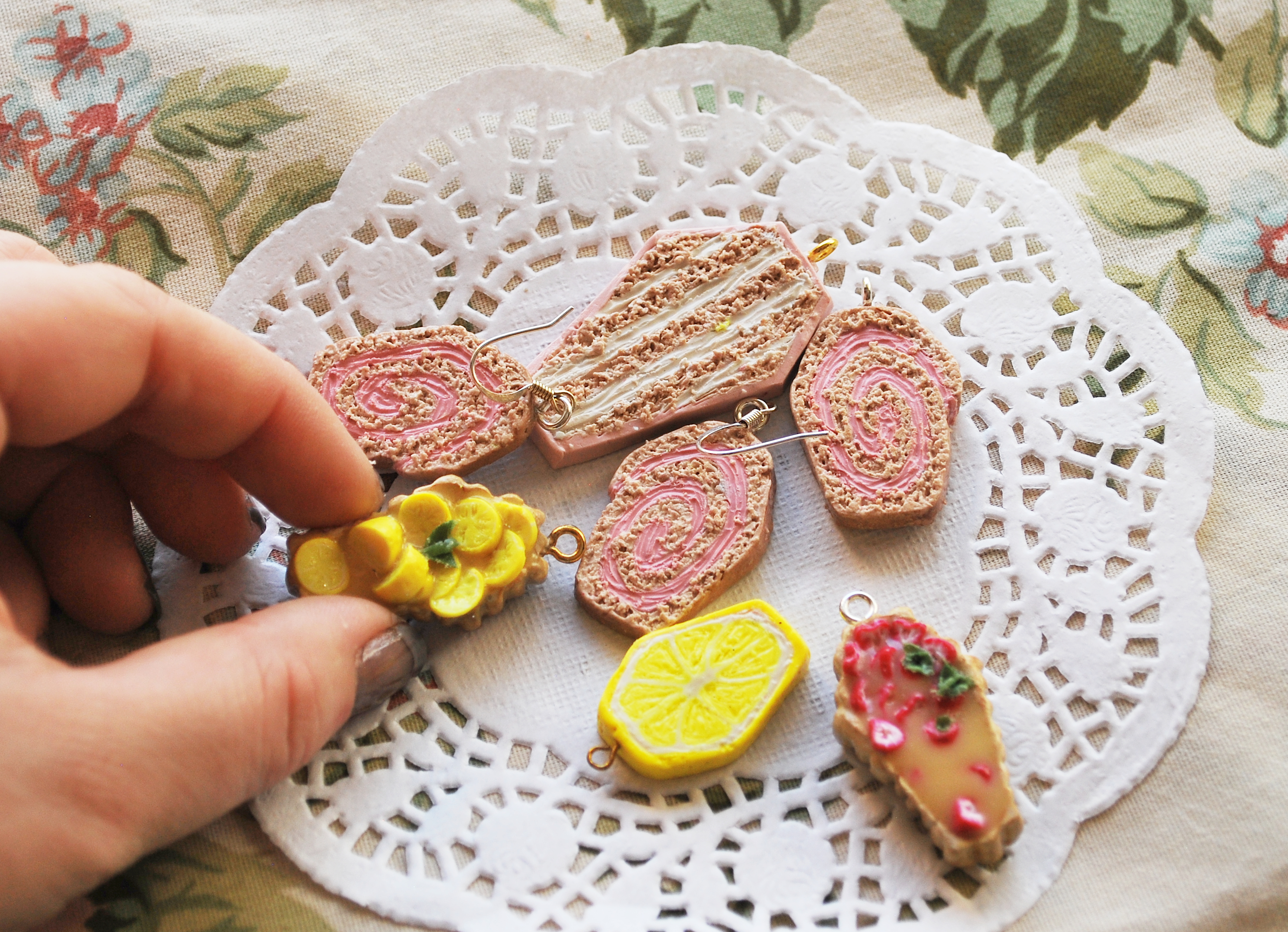 Coffin Food Charms